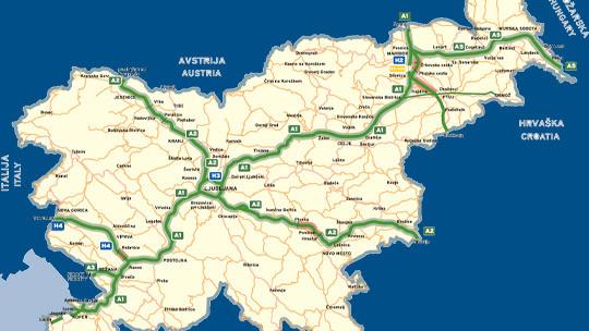 Zemljevid prometnih nesreč