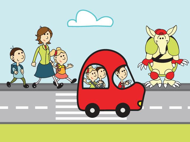 PROJEKT PASAVČEK ZA VEČJO VARNOST OTROK MED VOŽNJO - Agencija za varnost  prometa - AVP