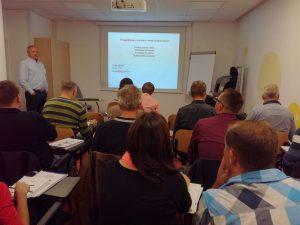 Predavanje preverjaje varnosti v cestnem prometu pri dr. Petru Liparju