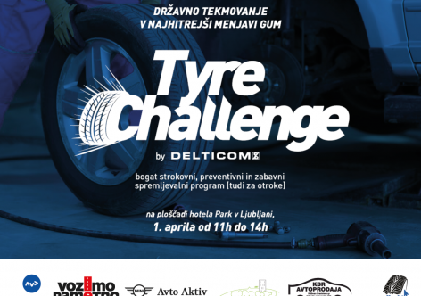"Agencija za varnost prometa se pridružuje dogodku ""Tyre Challenge"""