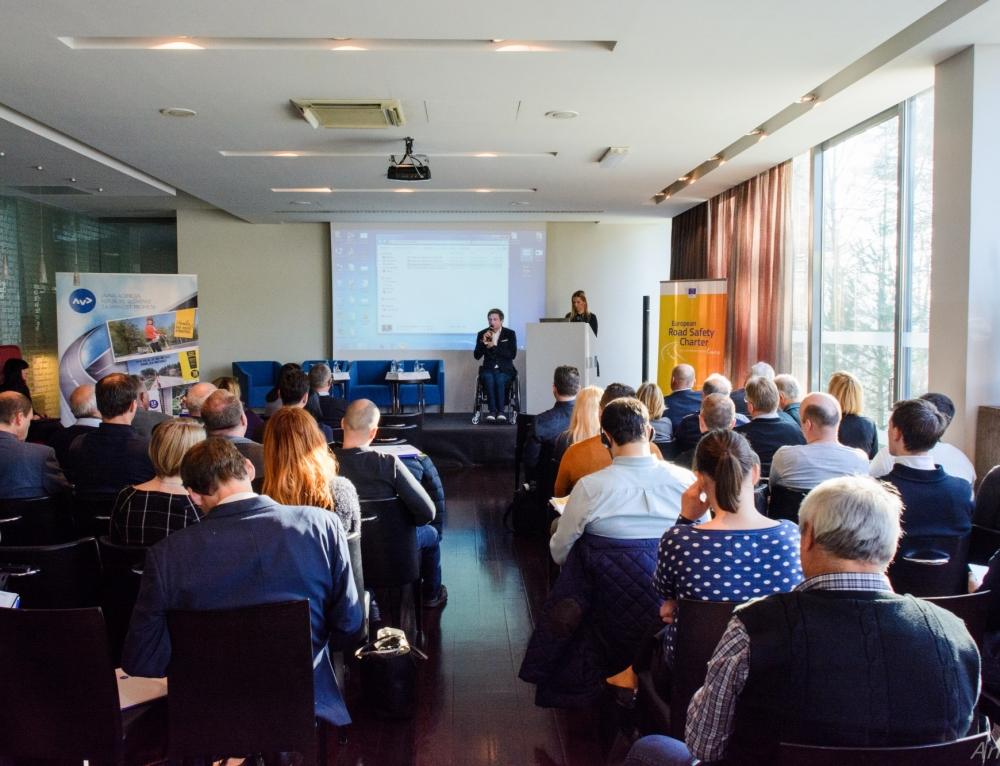 Sprejemanje zavez k aktivnostim za večjo prometno varnost v okviru dogodka Evropska listina o varnosti cestnega prometa