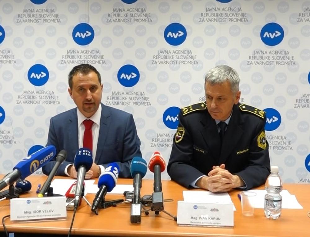 Prometna varnost v Sloveniji se izboljšuje