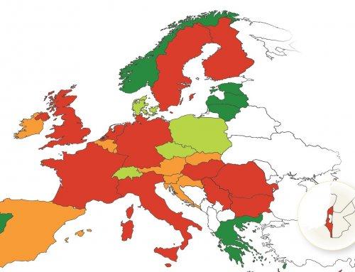 Poročilo Evropskega Sveta za varnost prometa Slovenijo uvrstilo med varne evropske države