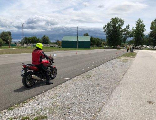 Praktično usposabljanje za učitelje vožnje A kategorije