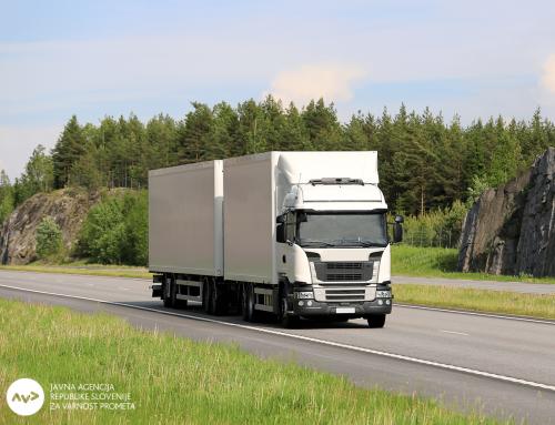 Začenja se vseevropska akcija za večjo varnost voznikov tovornih vozil in avtobusov