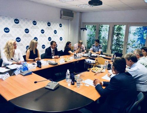 Z romunsko delegacijo skupaj za večjo prometno varnost
