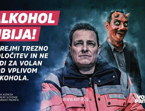 Za ničelno toleranco do alkohola in drog v prometu