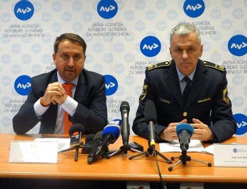 Prometna varnost v Sloveniji že drugo leto zapored izboljšana