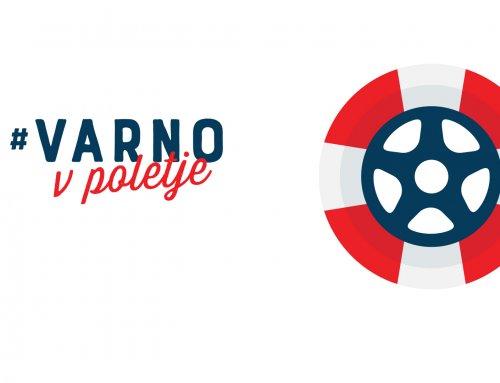 Vabilo na novinarsko konferenco, 20. 6. 2019, #VarnoVPoletje