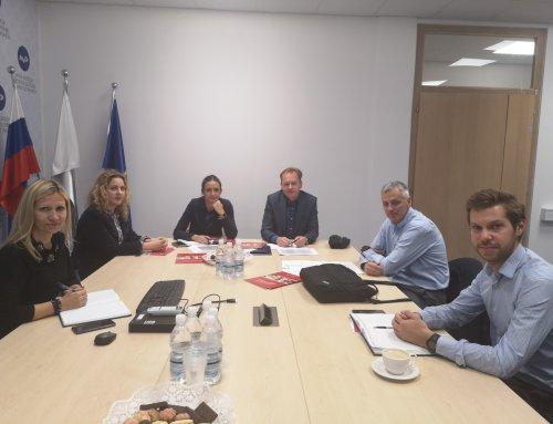 Delovni obisk delegacije hrvaškega Ministrstva za notranje zadeve