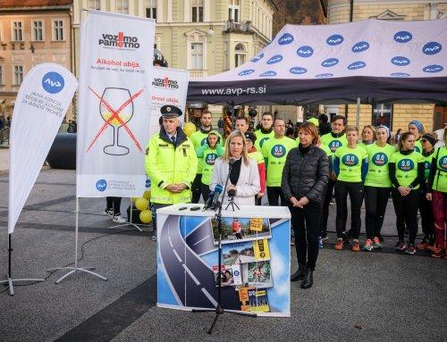 Alkohol in droge v prometu: z interaktivnim dogodkom v Ljubljani Agencija za varnost prometa opozarjala na tveganja in usodne posledice
