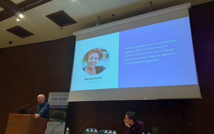 Predstavitev Projekta Sožitje na Letni konferenci o demenci ASK 2019