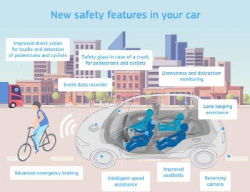 Nova evropska uredba o splošni varnosti vozil pomemben korak za doseganje »Vizije nič«