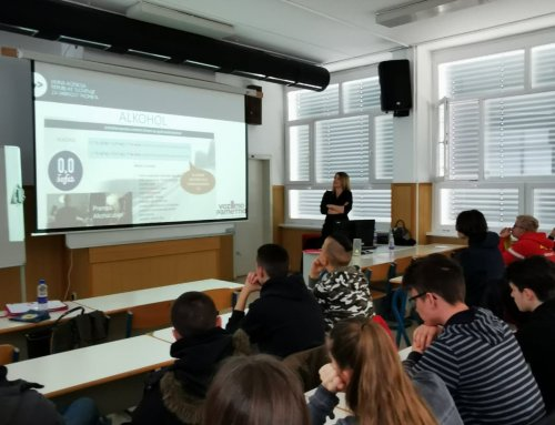 """Delavnica """"Vozimo pametno"""" na Strokovnem izobraževalnem centru v Ljubljani"""