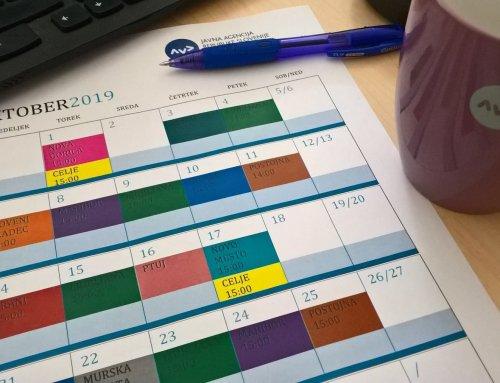 Redno letno usposabljanje učiteljev vožnje in učiteljev predpisov za leto 2019