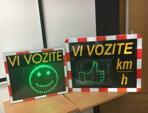 Agencija za varnost prometa: vpliv maratona nadzora hitrosti izmerjen tudi na preventivnih tablah »Vi vozite«