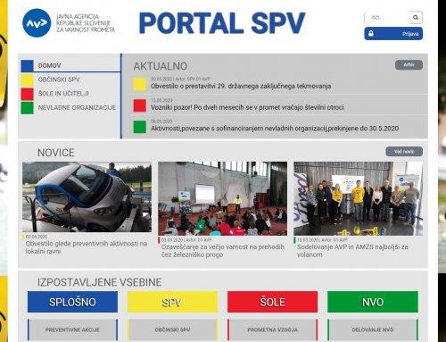 Portal SPV nadgrajen z vsebinami nevladnih organizacij in šol