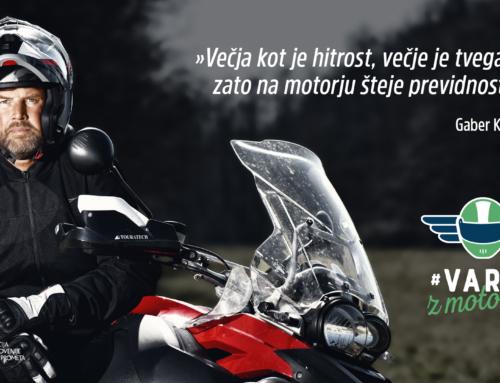 Motoristi in mopedisti pozor! Pogoji za vožnjo kljub lepemu vremenu še vedno niso optimalni.
