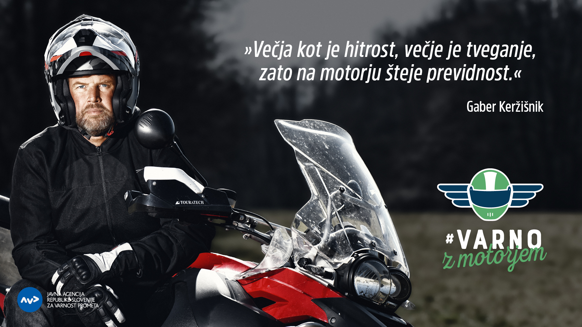 Opozorila motoristom in mopedistom pred sezono