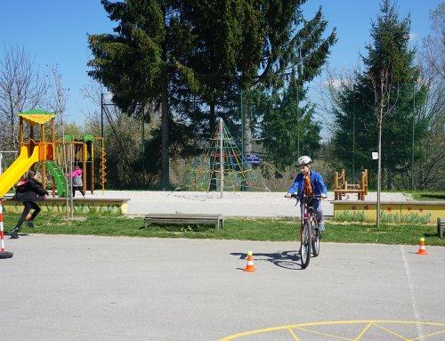 Zaključil se je projekt Varno na kolesu