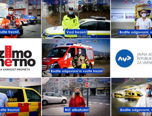 Hvala reševalcem, zdravnikom, policistom in gasilcem, hvala voznicam in voznikom!