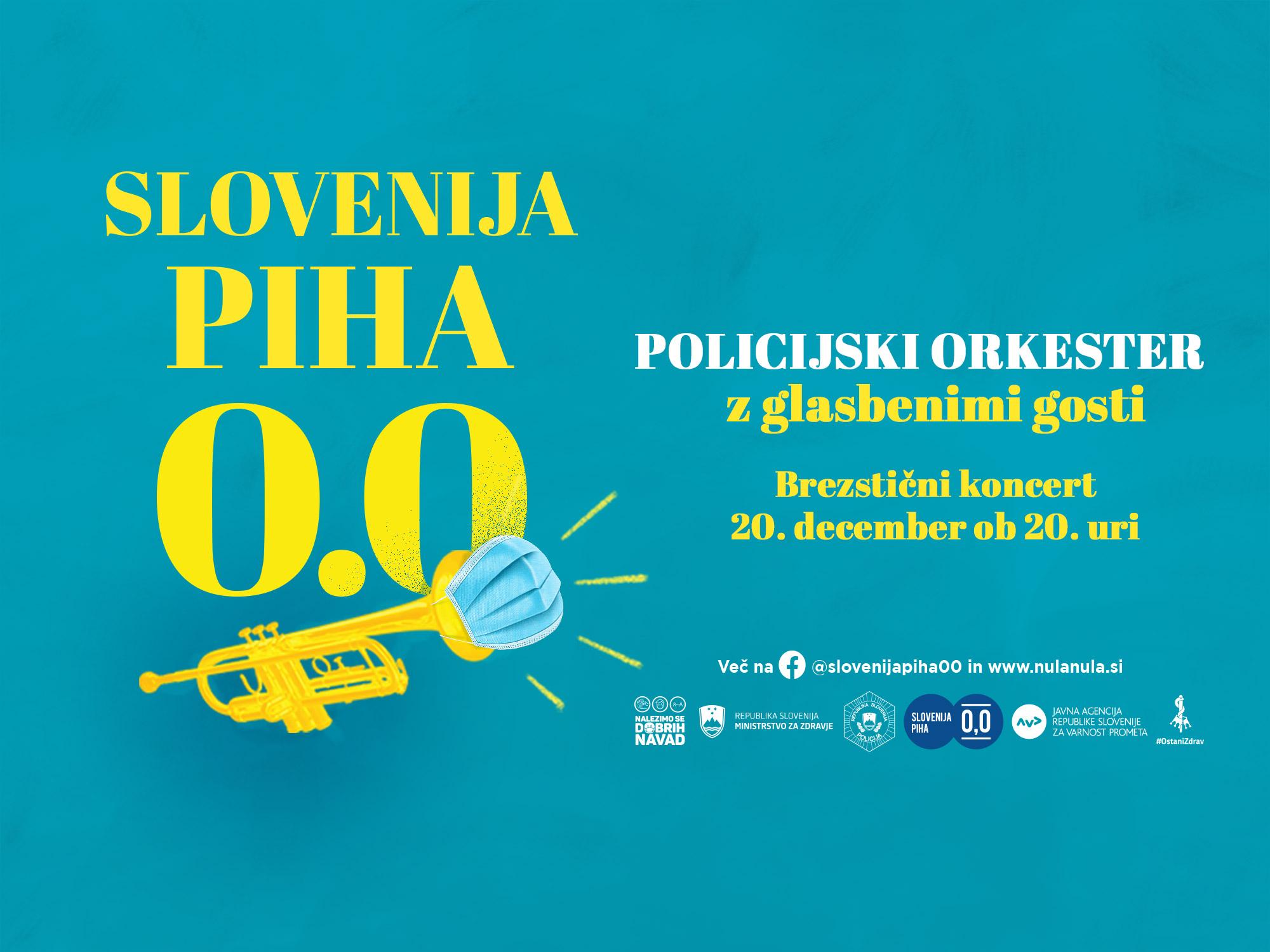 Slovenija piha 0,0 2020