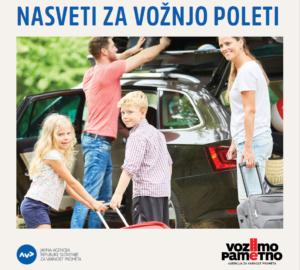 Naslovnica brošure Nasveti za vožnjo poleti
